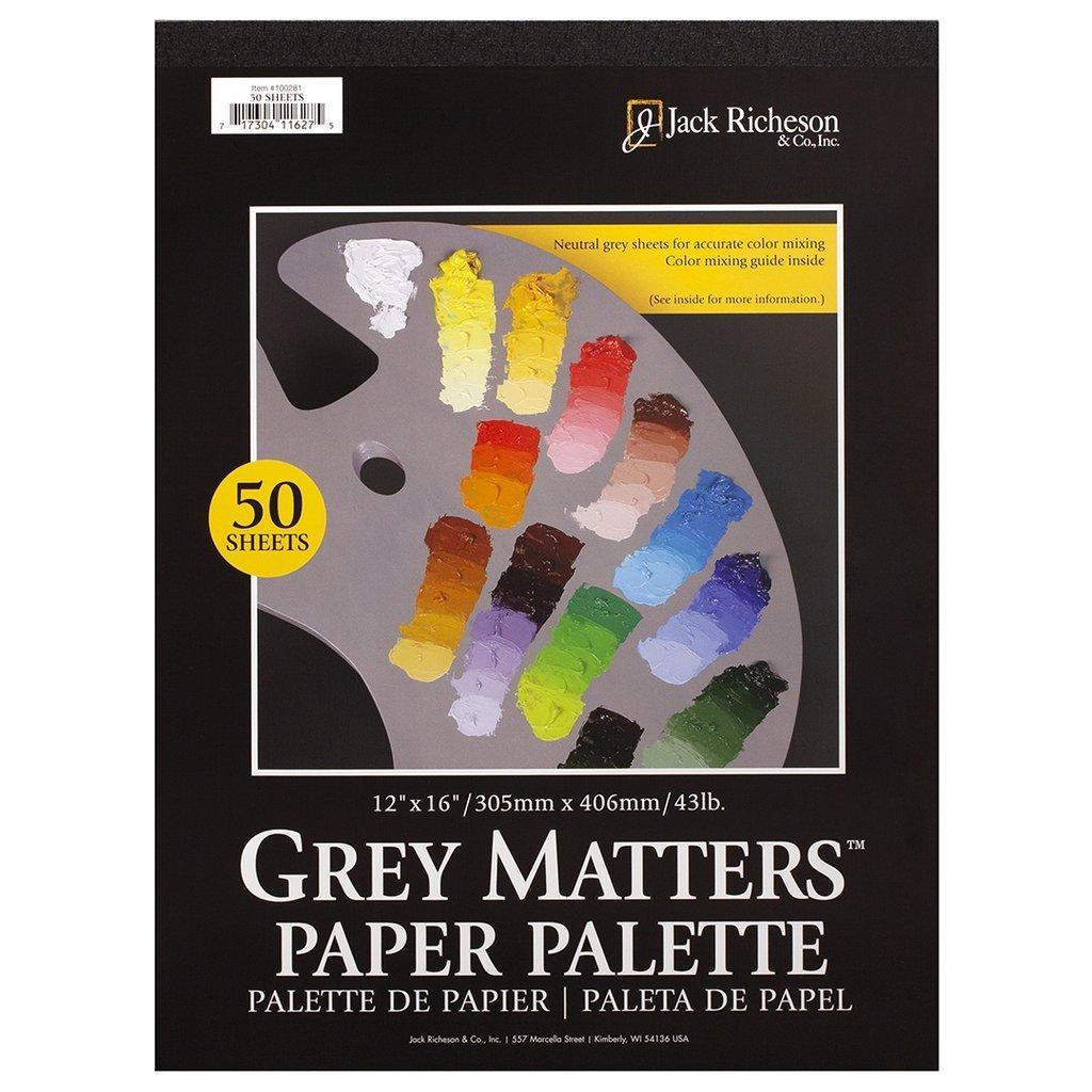 12X16 GREY MATTERS PALETTE PAPER