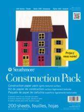KIDS CONSTRUCTION PAPER PAD 9X12 200 SHEETS