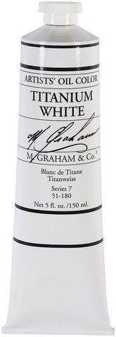 GRAHAM OIL 150ML TITANIUM WHITE
