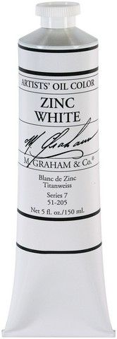 GRAHAM OIL 150ML ZINC WHITE