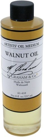 GRAHAM OIL 8OZ WALNUT MEDIUM
