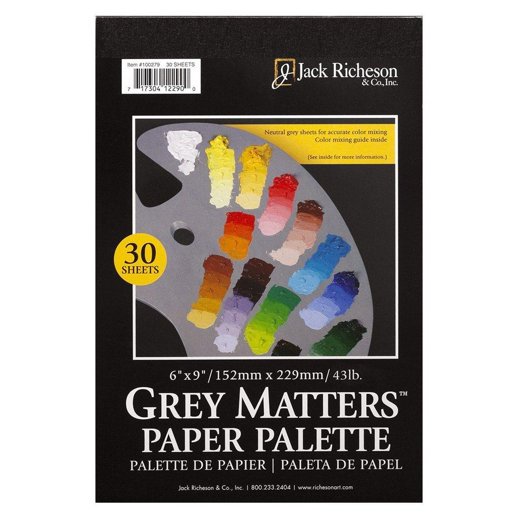 6X9 GREY MATTERS PALETTE PAPER