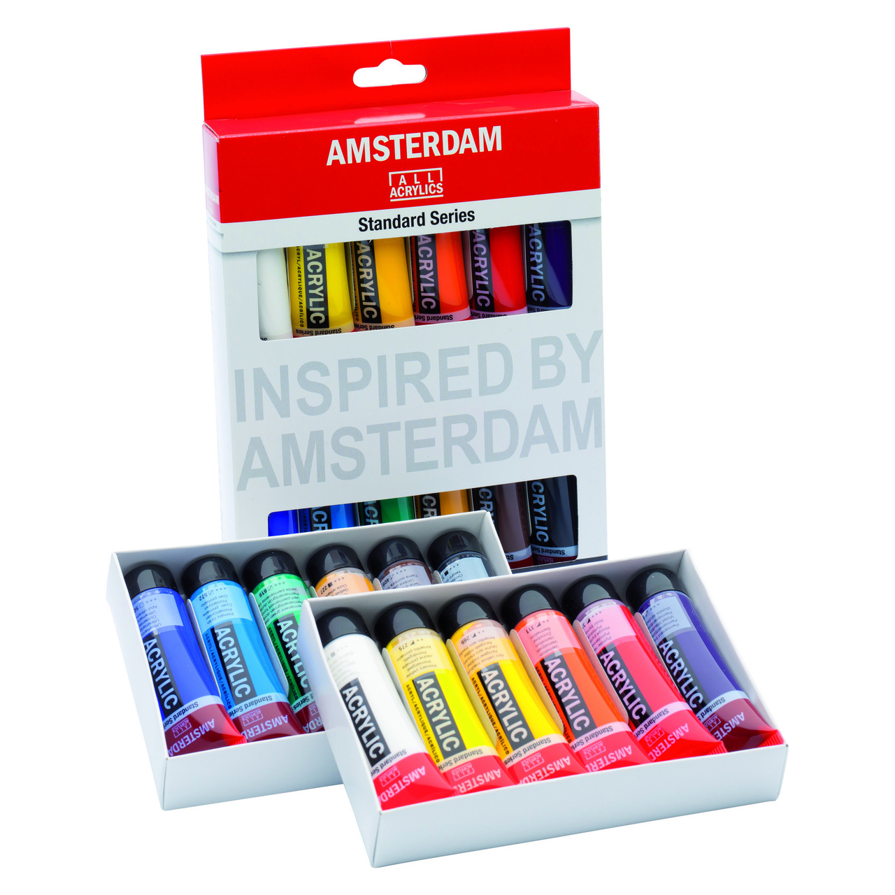 AMSTERDAM ACRYLIC SET 12X20ML