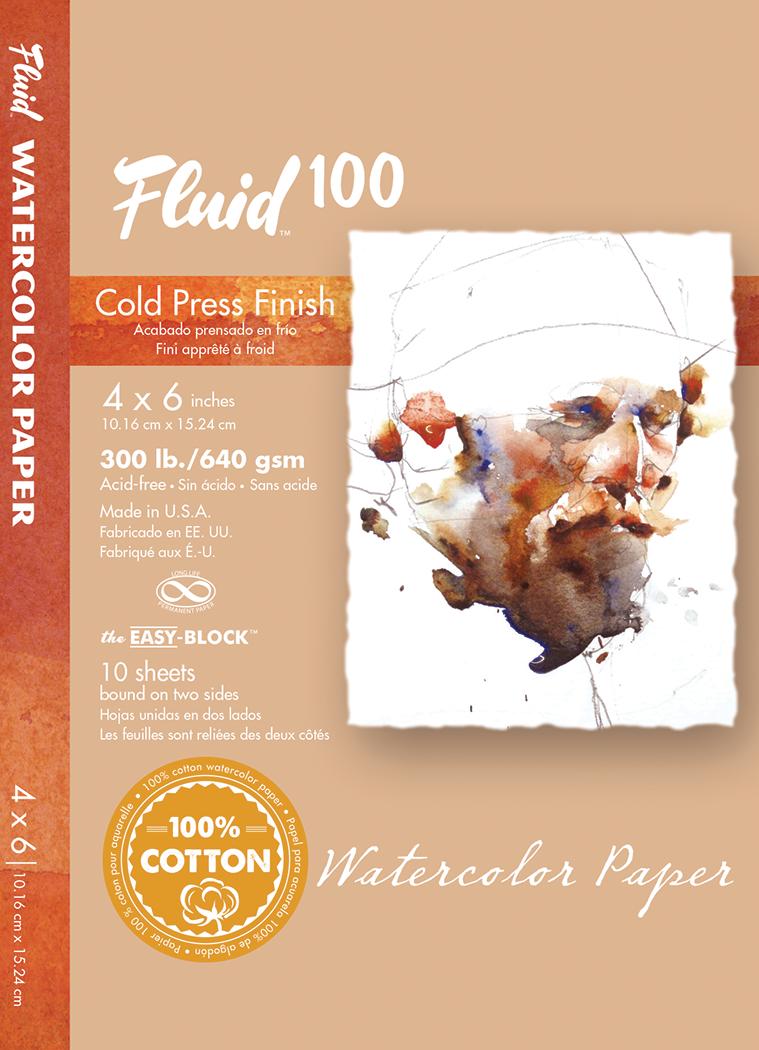 FLUID 100 300CP BLOCK 4X6 10SH