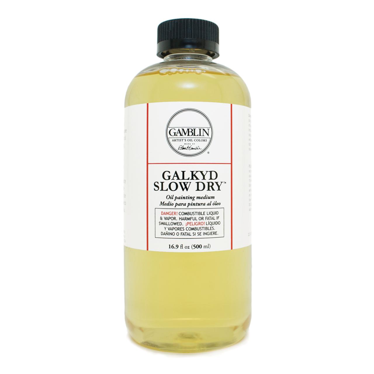 GALKYD SLOW DRY MEDIUM 16.9 OZ