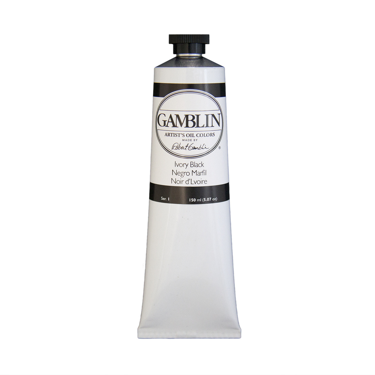ARTIST OIL 150ML IVORY BLACK