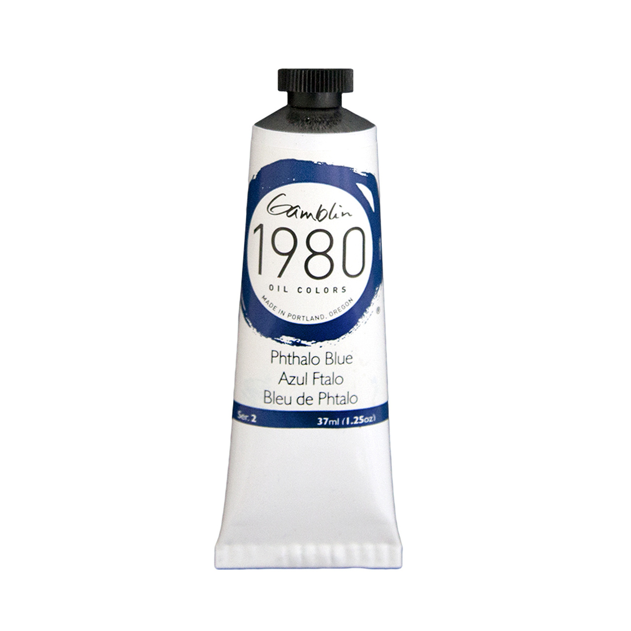 1980 OIL 37ML PHTHALO BLUE