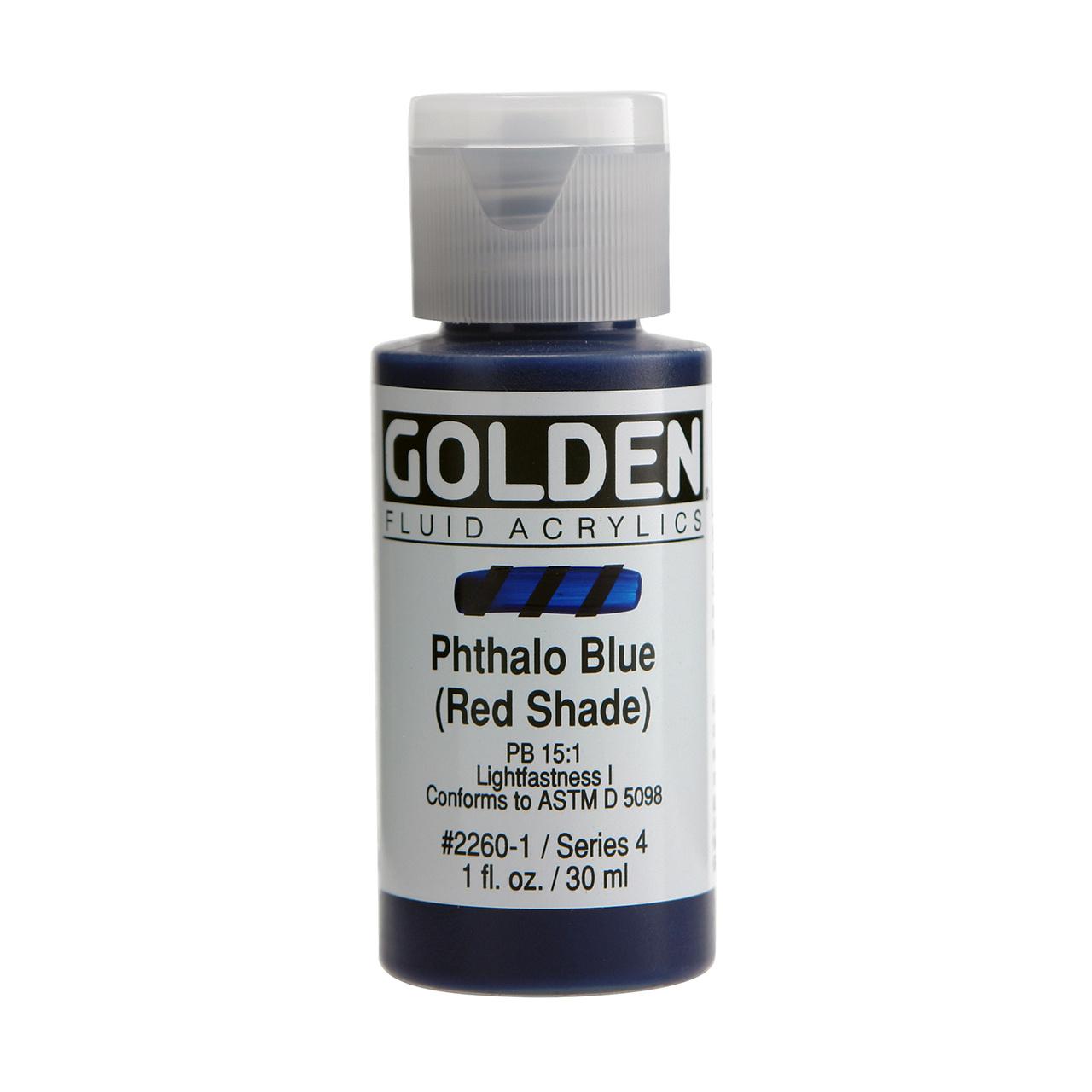 FLUID ACRYLIC 1OZ PHTH BLUE(RS)