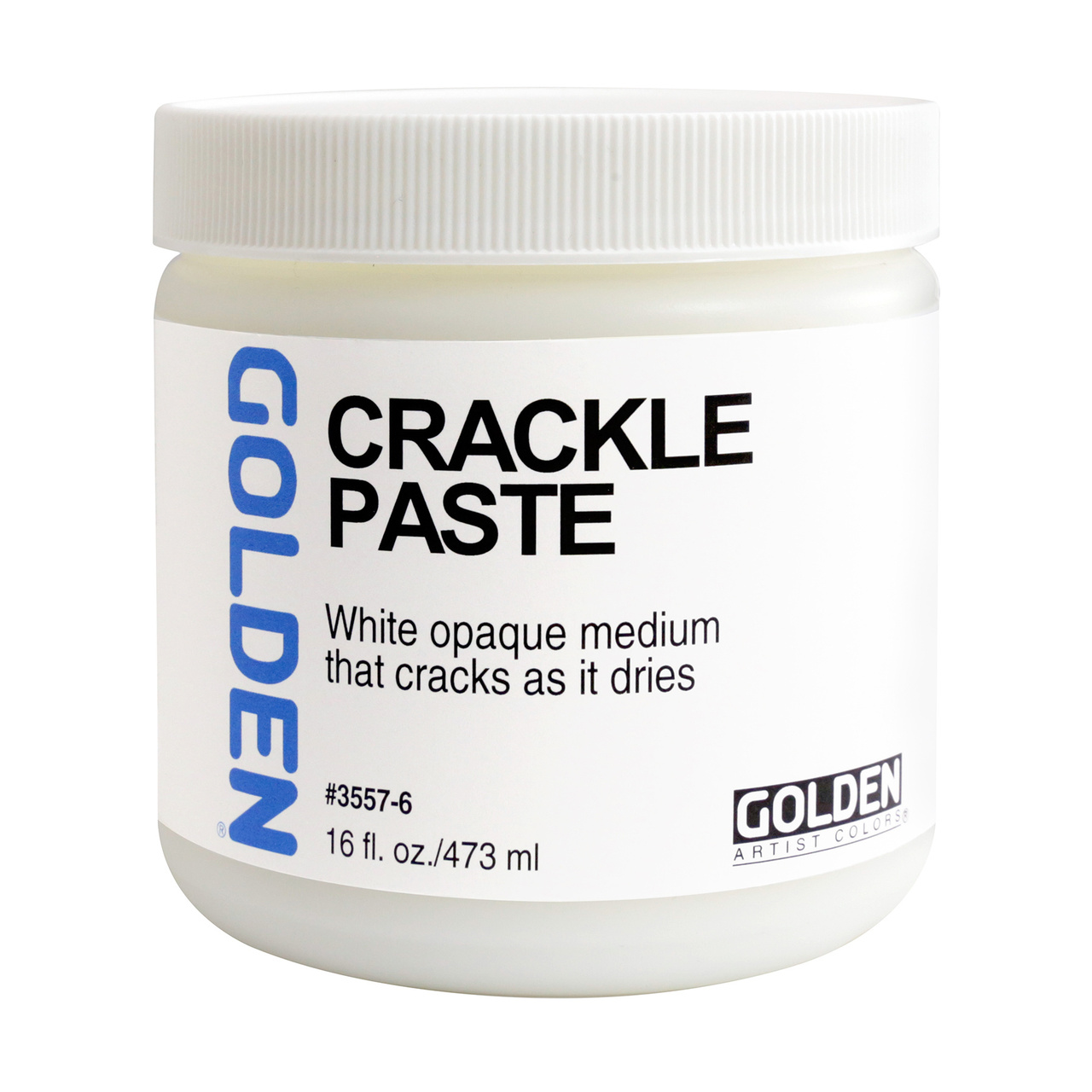 CRACKLE PASTE ACRYLIC MED 16OZ