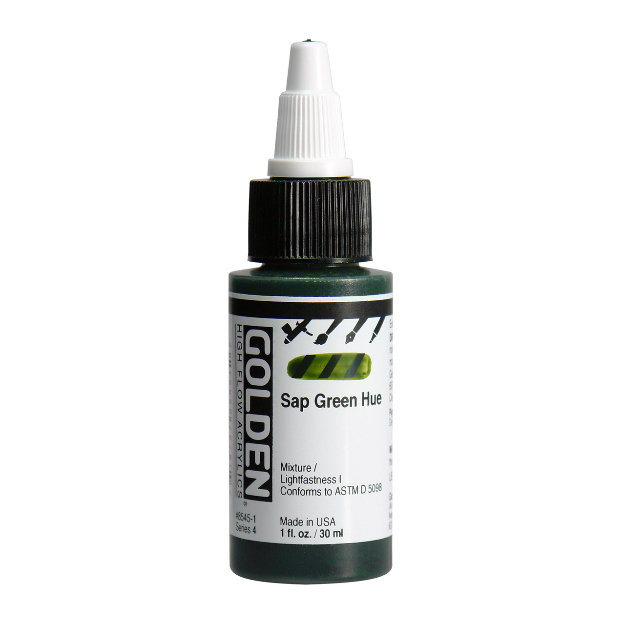 HIGH FLOW ACR SAP GRN HUE 1OZ