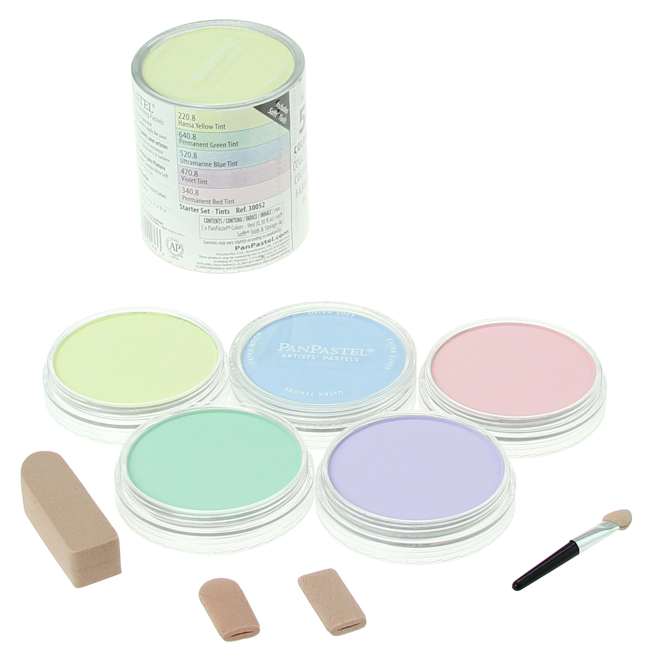 PANPASTEL 5 CLR SET TINTS