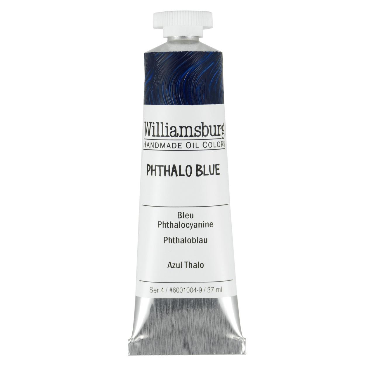 HANDMADE OIL 37ML PHTHALO BLUE