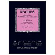 ARCHES PAD 140# HOT PRESS 11.7X16.5
