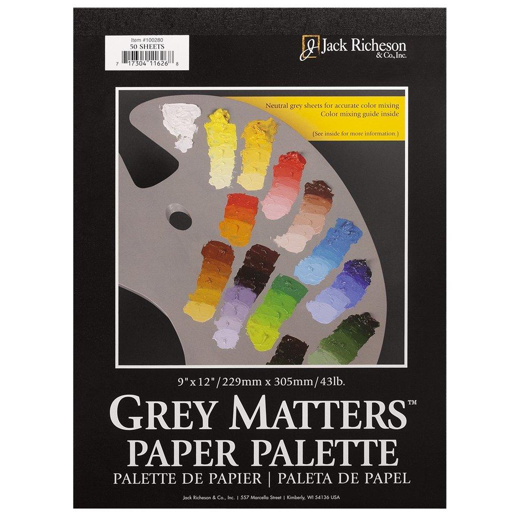 9X12 GREY MATTERS PALETTE PAPER