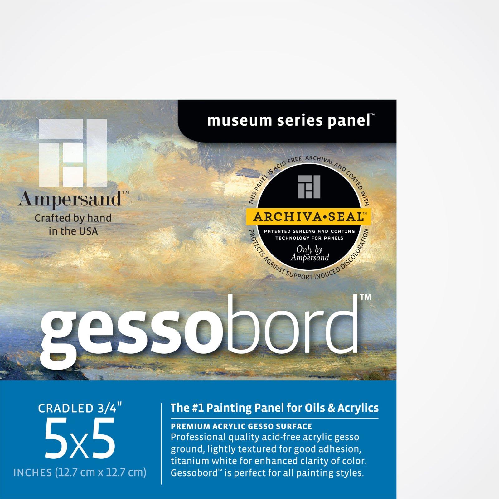 GESSOBORD 3/4IN CRADLED 5X5