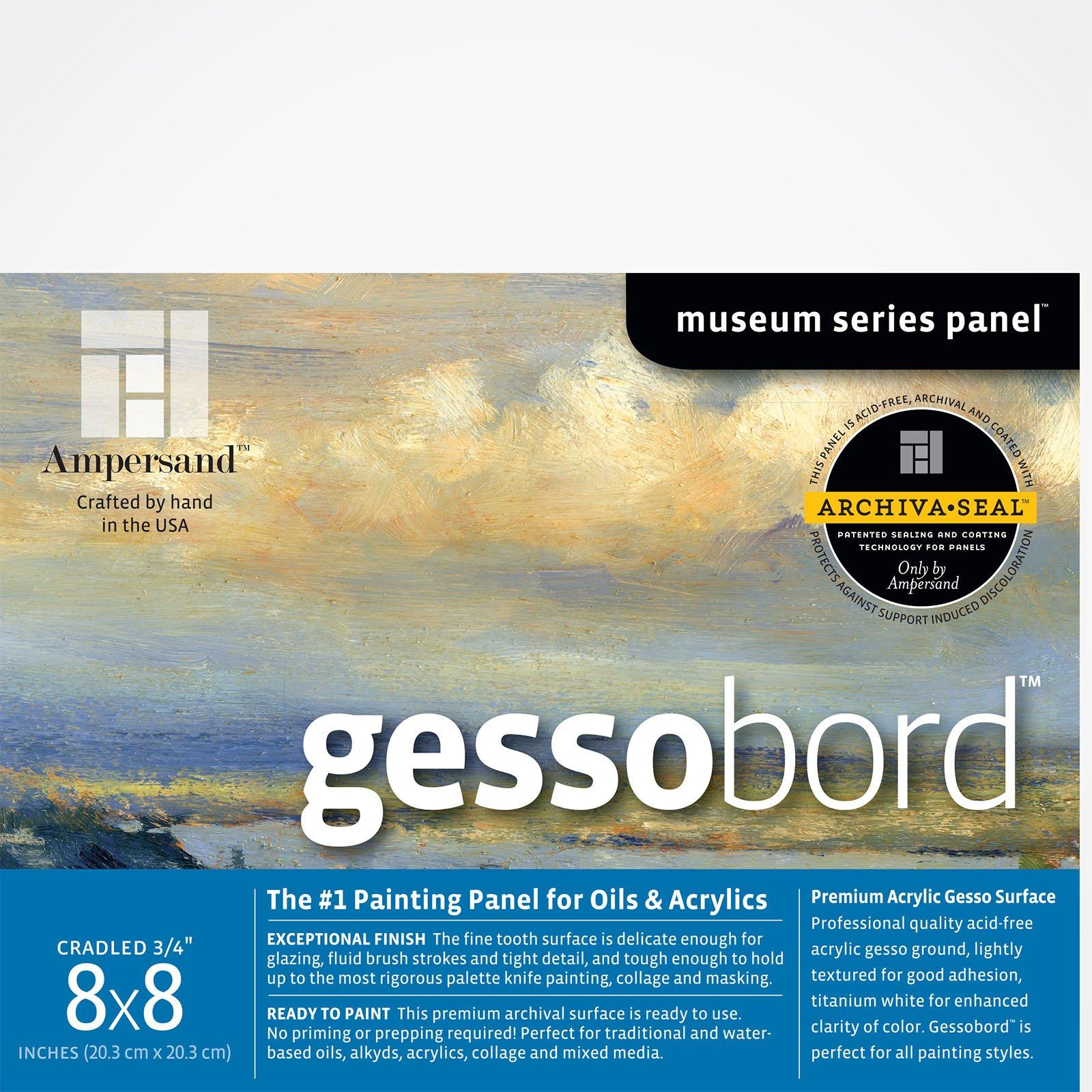 GESSOBORD 1.5IN CRADLED 8X8