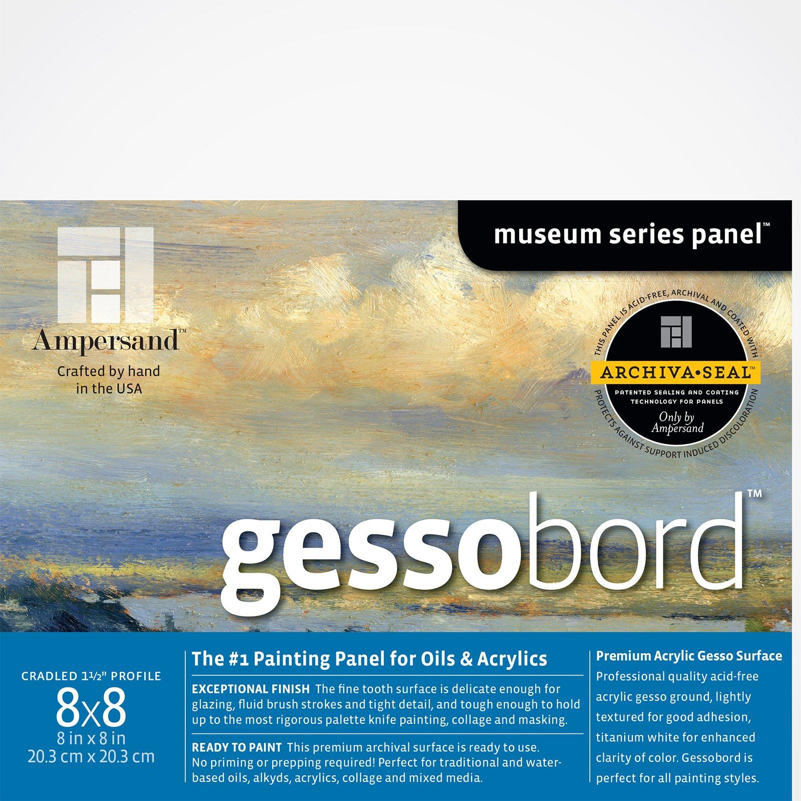 GESSOBORD 3/4IN CRADLED 8X8