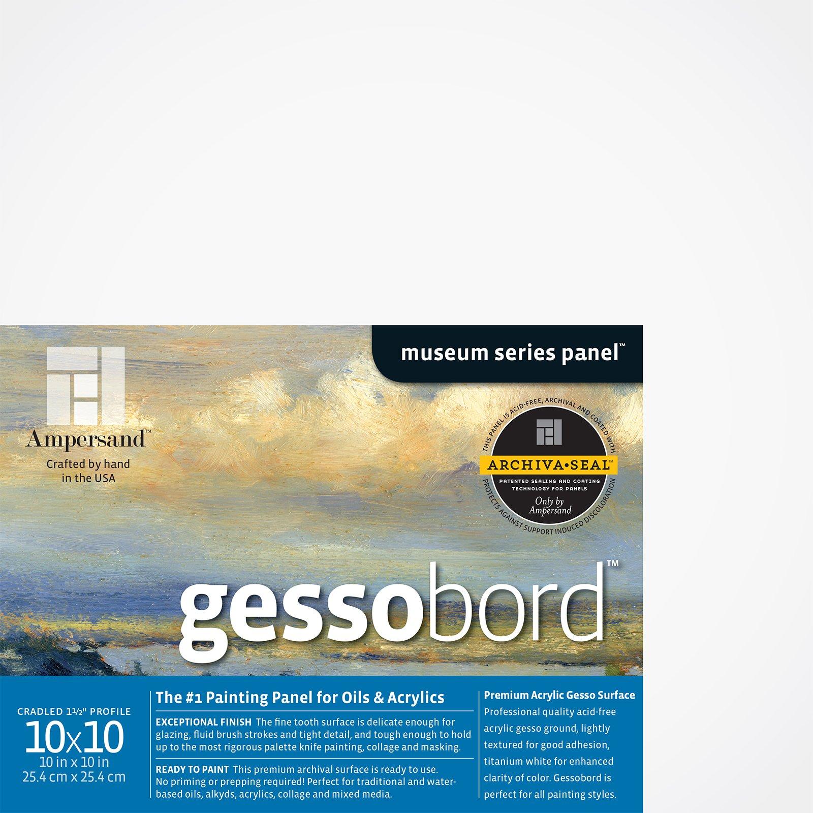 GESSOBORD 1.5IN CRADLED 10X10