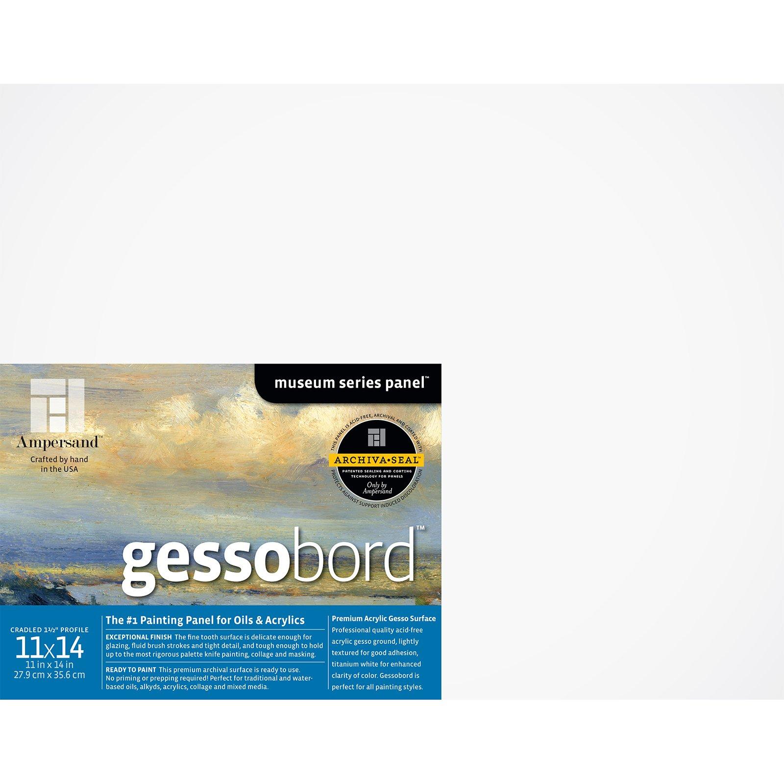 GESSOBORD 1.5IN CRADLED 11X14