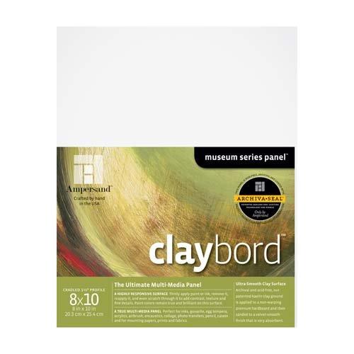 CLAYBORD 1.5IN CRADLED 8X10