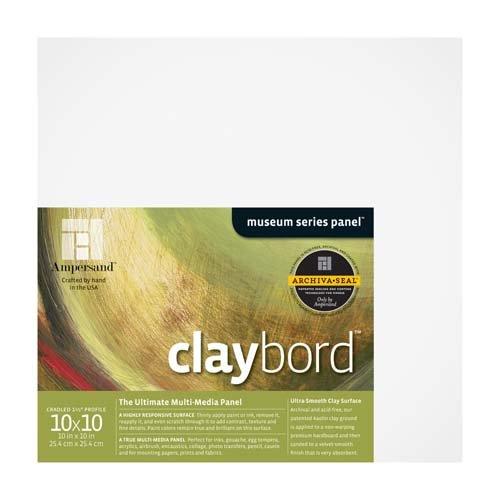CLAYBORD 1.5IN CRADLED 10X10