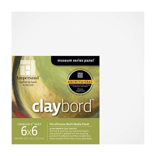 CLAYBORD 2IN CRADLED 6X6