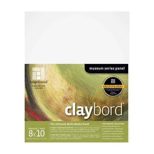 CLAYBORD 2IN CRADLED 8X10