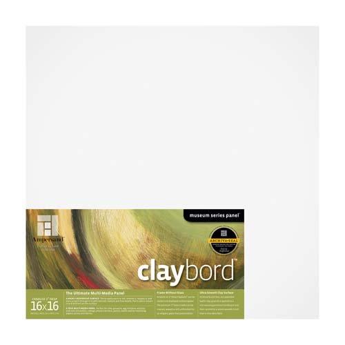CLAYBORD 2IN CRADLED 16X16