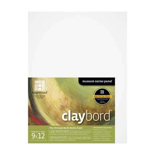 CLAYBORD 2IN CRADLED 9X12