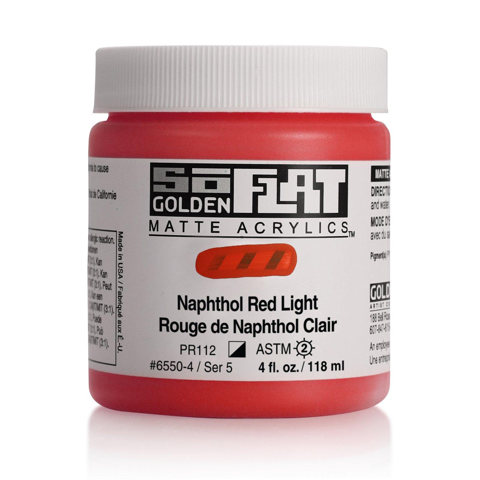SOFLAT 4OZ NAPHTHOL RED LIGHT