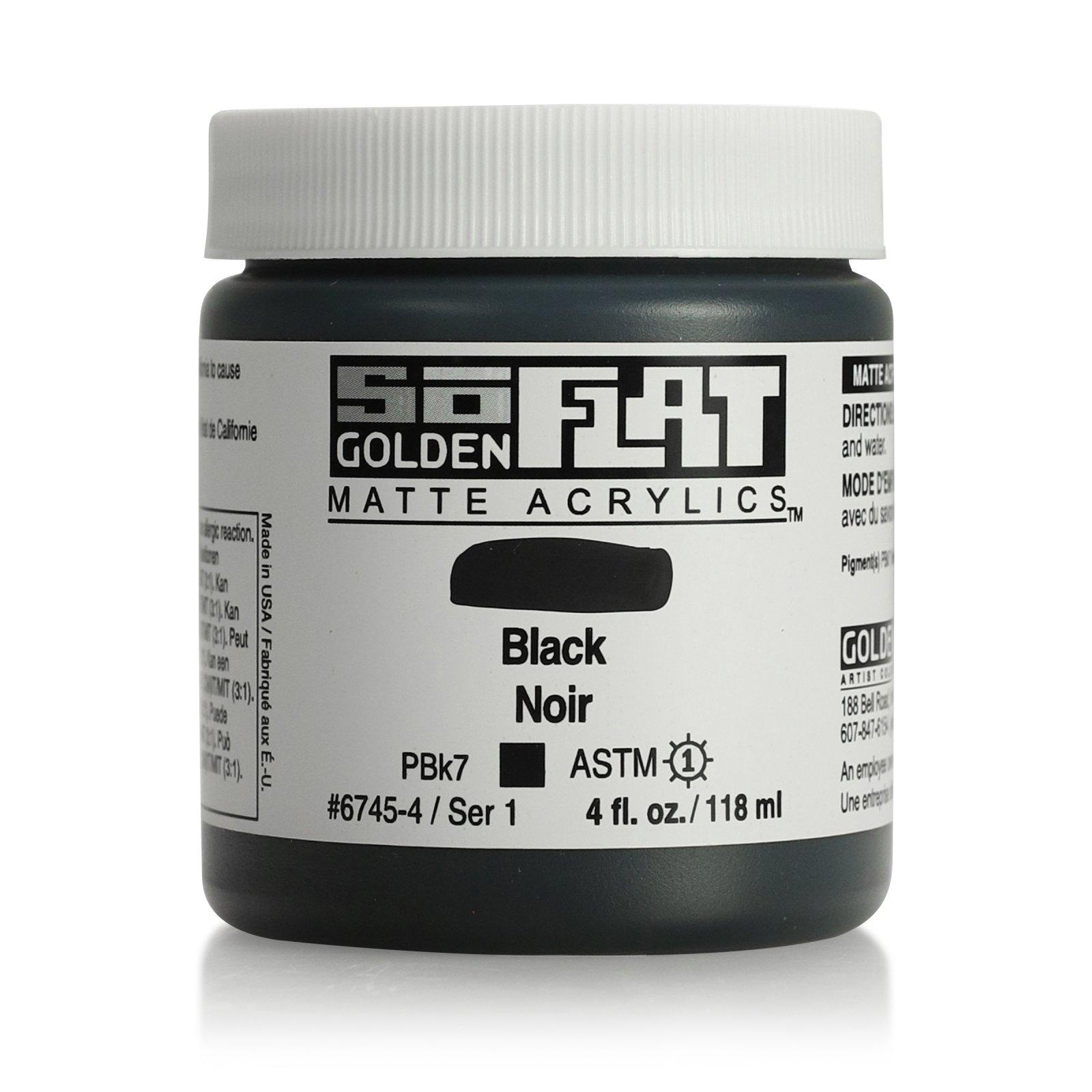 SOFLAT 4OZ BLACK