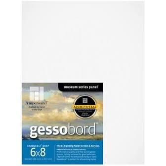 GESSOBORD 1/8IN FLAT 3PK 6X8