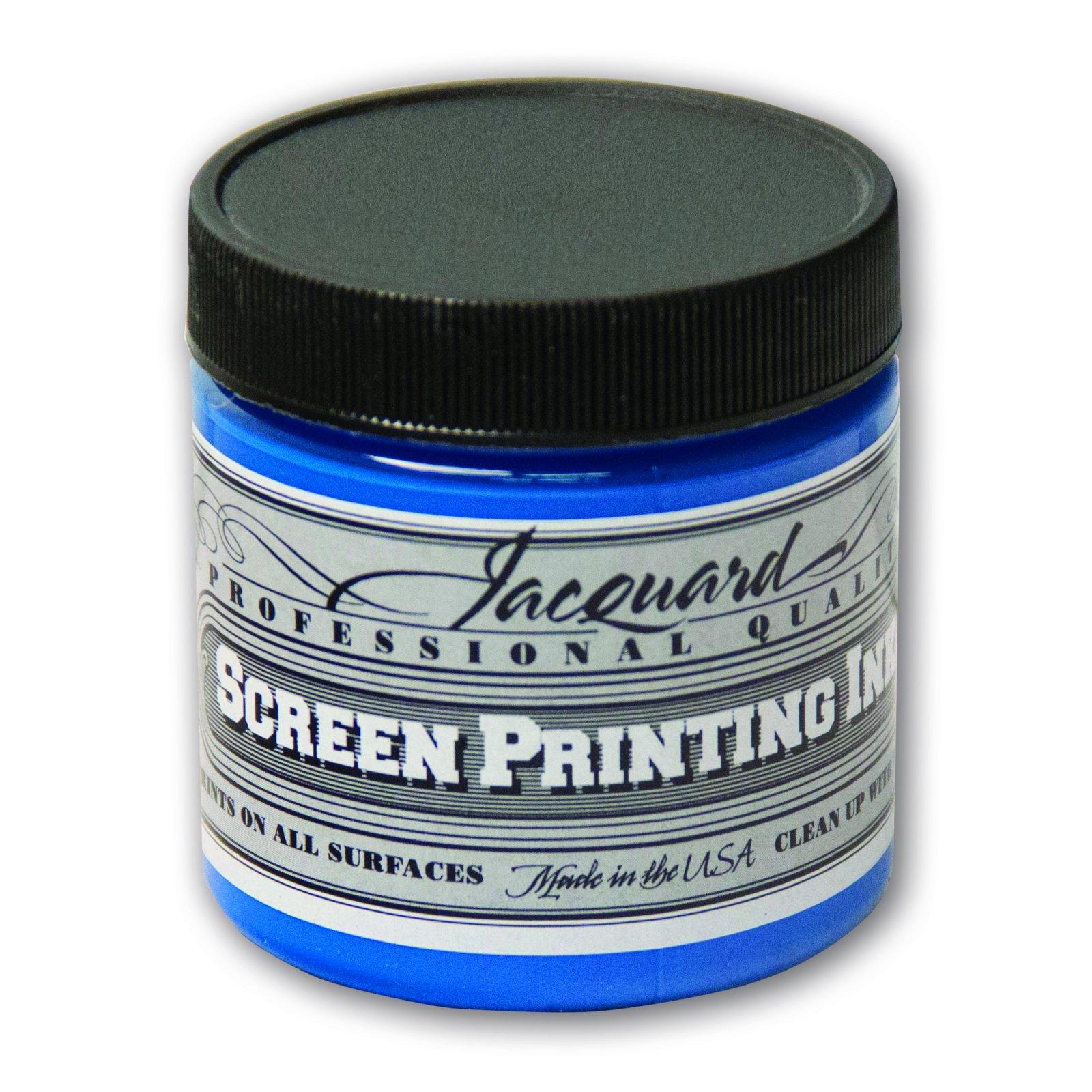PROF SCRN PRNT INK 4OZ OP BLUE