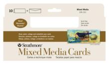 CARD MIXED MEDIA #400 3.875X9 SLIM 10 PACK