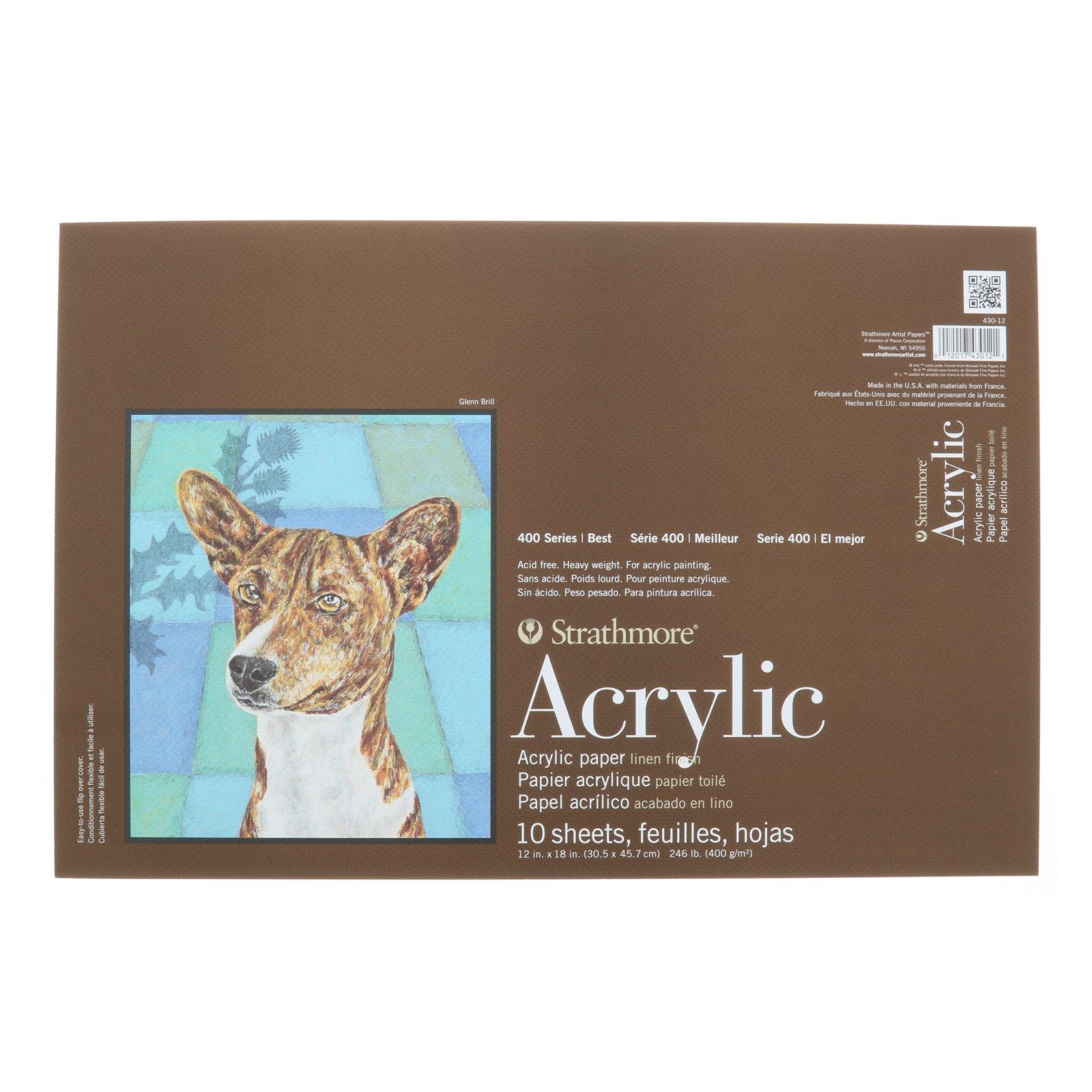 ACRYLIC 400 TB 12X18 10 SHEETS