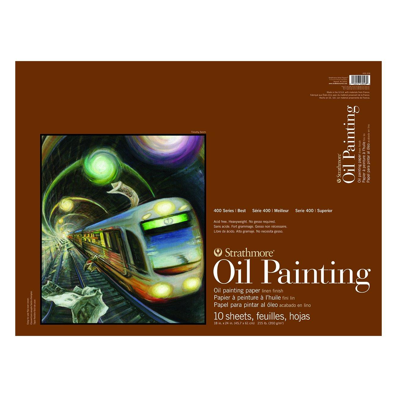 OIL 400 PAD 18X24 10 SHEETS