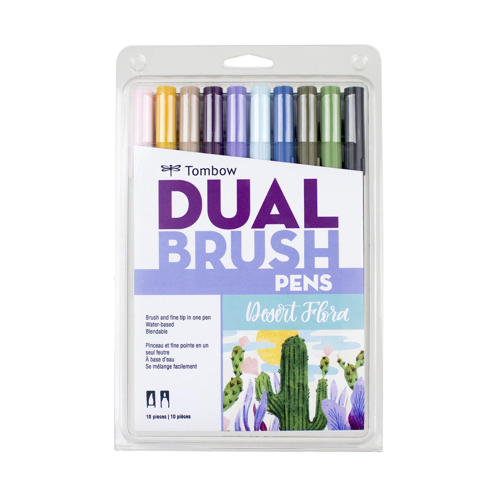 DUAL BRUSH SET 10/DESERT FLOWER