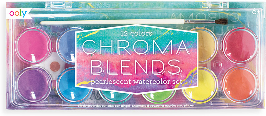 CHROMA BLENDS 12 PEARL WATERCOLOR
