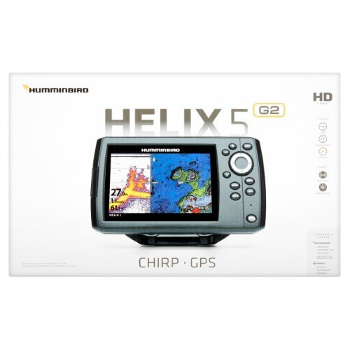Helix 5 G2 Chirp Sonar/GPS Combo - 5 Color TFT Wide-screen