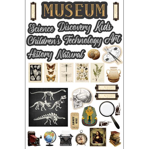 Museum Embellishments