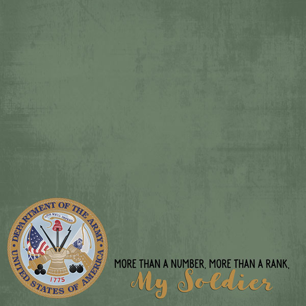 My Soldier - Army