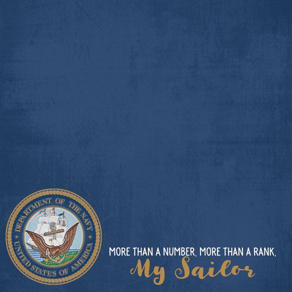 My Sailor - Navy