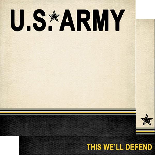 Army border stripe