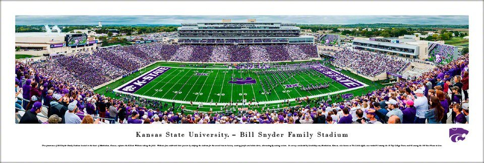 Blakeway Panorama Bill Snyder Family Stadium - CURBSIDE PICKUP ONLY