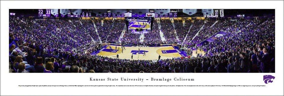 Blakeway Panorma Kansas State University - Bramlage Coliseum - CURBSIDE PICKUP ONLY