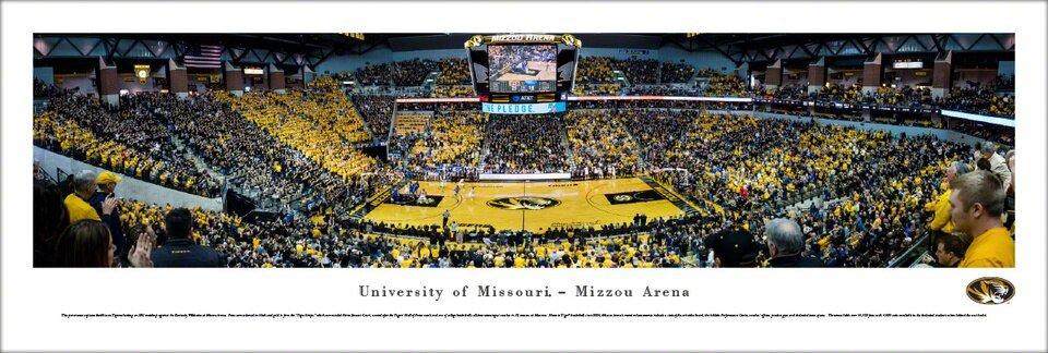 Blakeway Panorama University of Missouri  Mizzou Arena - CURBSIDE PICKUP ONLY