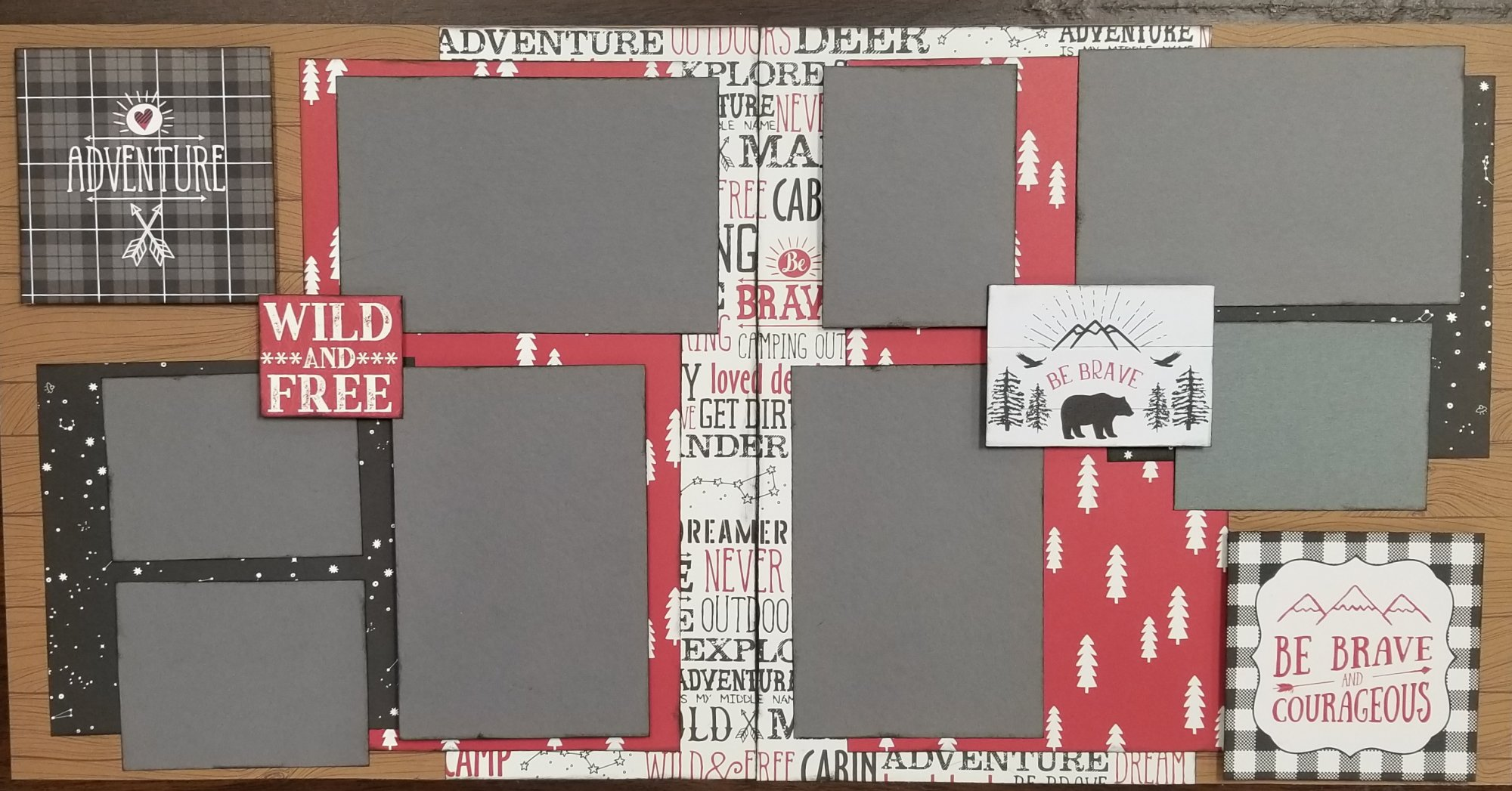 Adventure 2-page layout