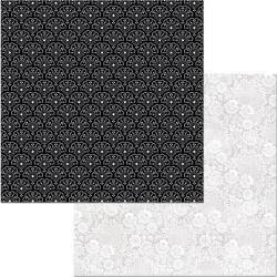 BoBunny Black Tie Affair Double-Sided Cardstock 12X12 Diamonds