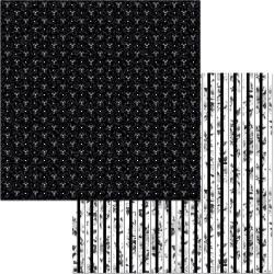 BoBunny Black Tie Affair Double-Sided Cardstock 12X12 Sophistication