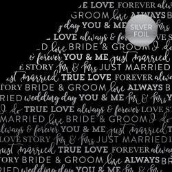 Black True Love foil